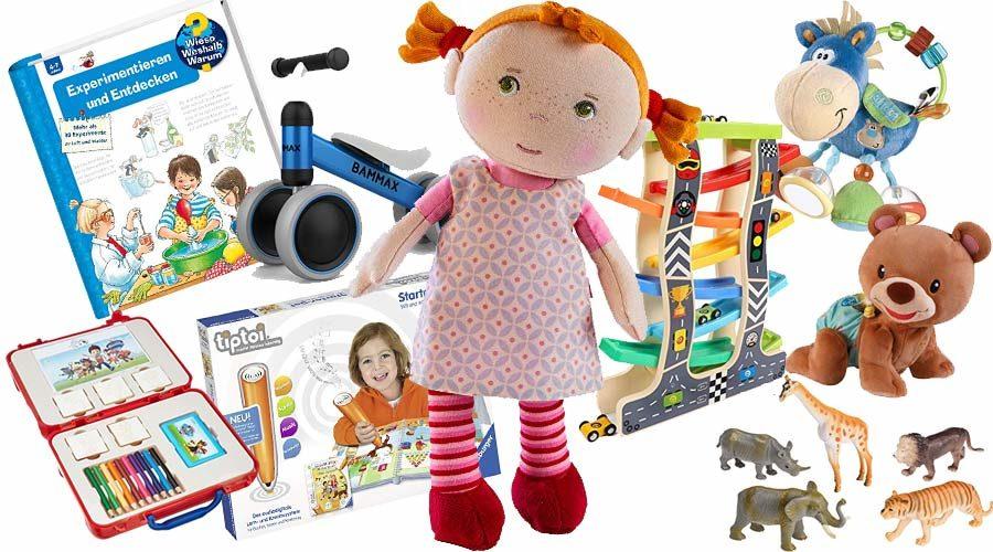 100 beliebtesten Kinderspielzeuge