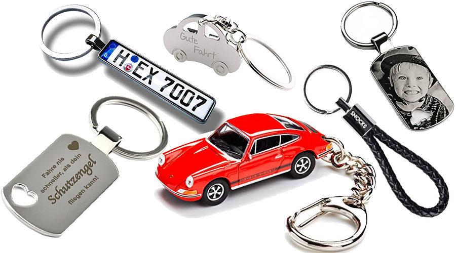 Schlüsselanhänger fürs Auto