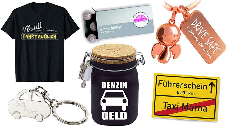 Geschenke zum bestandenen Führerschein