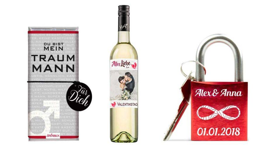 Geschenke zum Valentinstag für Männer