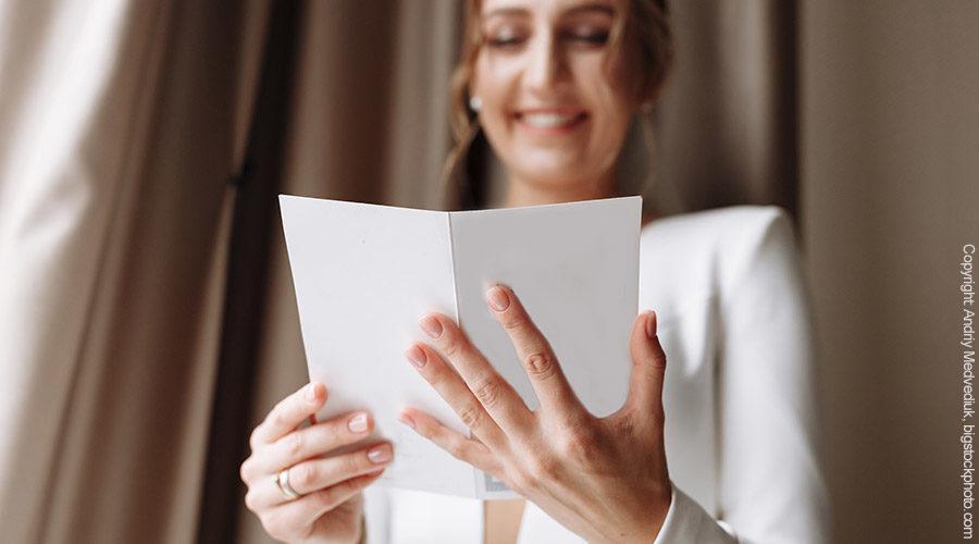 Geschenkidee für die Braut