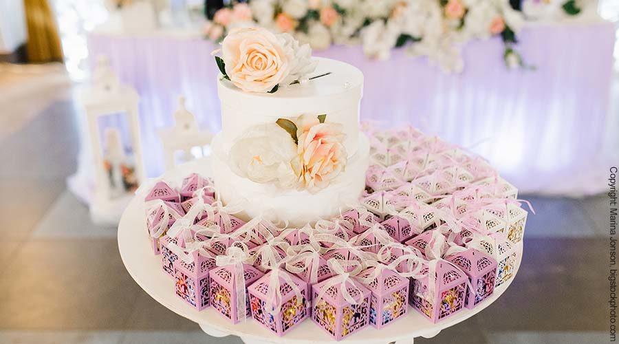 Geschenke für die Hochzeitsgäste